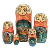 Christmas Russian nesting dolls
