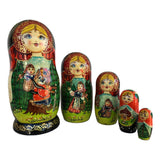 Russian traditional fairytale storyteller dolls