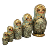 Set of Russian nesting dolls
