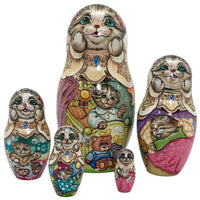 Authentic nesting dolls Russian