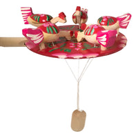 Children toy children pecking paddle