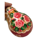 Russian doll with roses