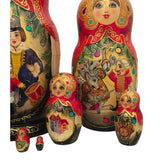 Russian fairytale dolls