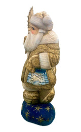 Wood carved Father Frost