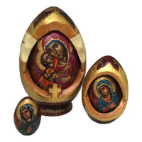 Russian icon nesting dolls