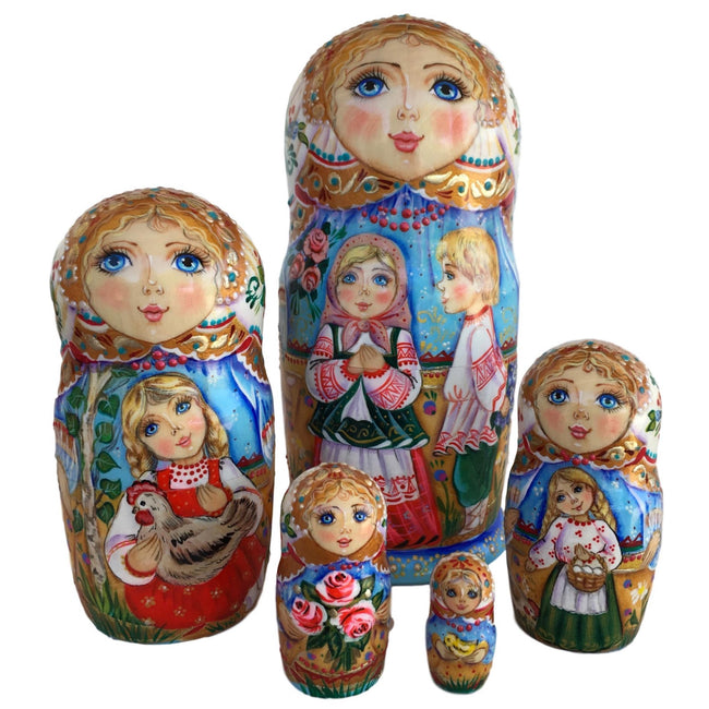 Russian unique babushka