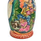 Russian stacking dolls fairytale