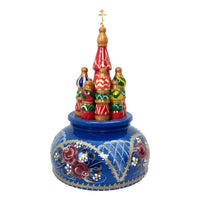 Russian church musical box