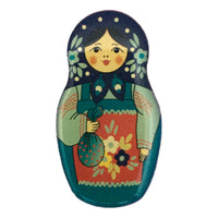Matryoshka magnet from Russia