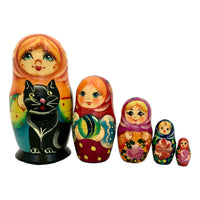 Russian matryoshka cat
