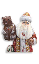 Russian Santa and bear