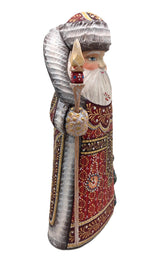 Wood figure Santa claus