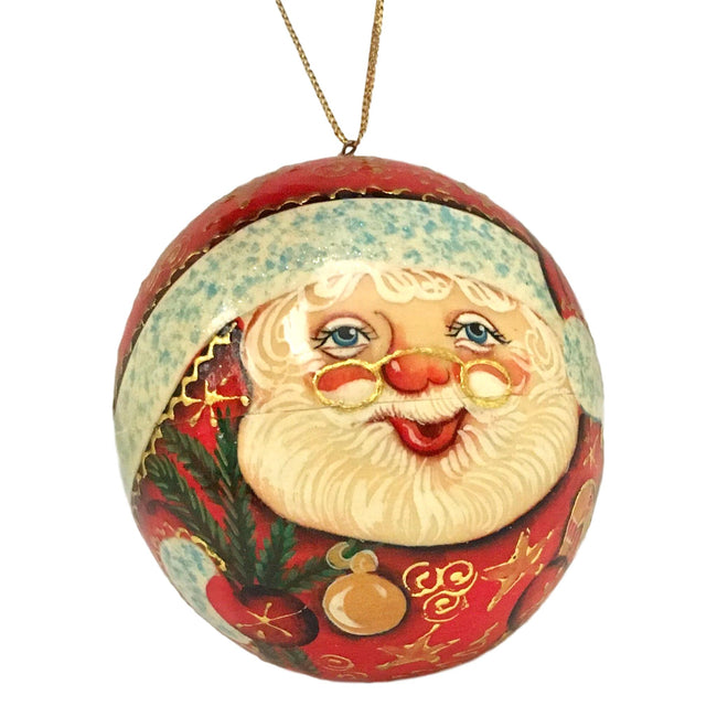 Unique Santa Claus Christmas ornament