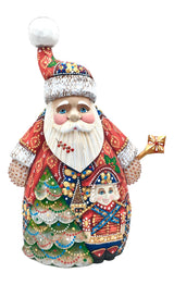 Russian Santa with nutcracker