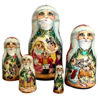Russian nesting dolls nutcracker story