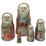 Russian Christmas traditions Santa dolls