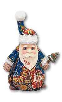 Russian fathe frost with nutcracker