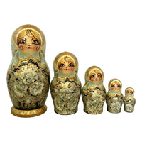 Traditional stacking dolls Russia