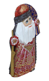 Red and gold Russian Ded Moroz
