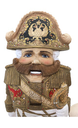 Nutcracker wood carved figurine