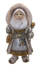 Handcrafted wooden Santa