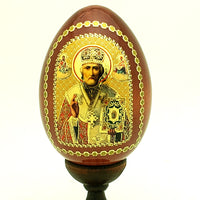 Saint Nicholas Icon egg