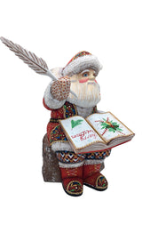 Wooden carved Santa