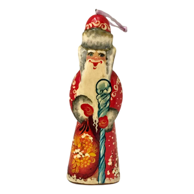Russian Santa Christmas ornament