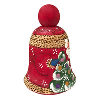 Santa bell Christmas decoration