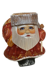Unusual shape Santa Claus
