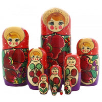 Semenovo 10 Piece Nesting Doll Set