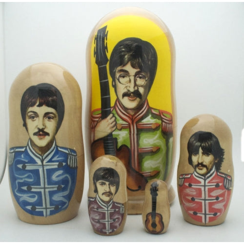 Sergeant Pepper Beatles Nesting Doll 7