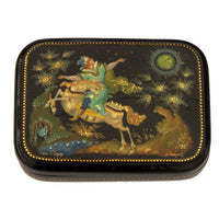 buyrussiangifts-store - Sleeping Beauty Fairy Tale Palekh Box - BuyRussianGifts Store - Lacquer Boxes