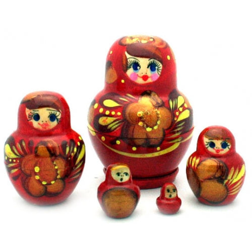 Small Red Nesting Doll