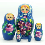 Small Blue Nesting Doll
