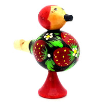 Strawberry Wooden Bird Whistles