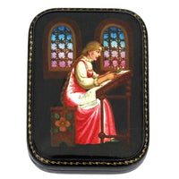 buyrussiangifts-store - Russian Box Tale of the Dead Princess and Seven Bogatyrs - BuyRussianGifts Store - Lacquer Boxes