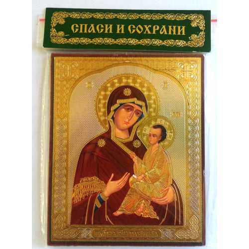 Theotokos of Tikhvin Holy Mother Icon