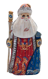 Traditional wooden Santa
