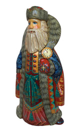 Traditional Russian Santa lacquered figurine