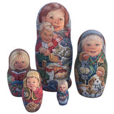 Wooden Russian dolls buy