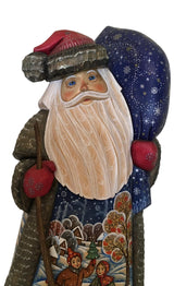 Russian father frost wood