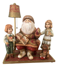 Russian Santa children scene
