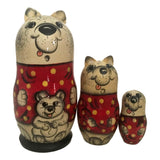 Polar bear matryoshka dolls