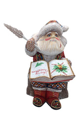 Wood carved Santa Claus