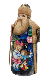 Russian Father Frost wood carved