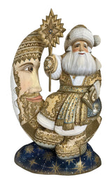 Father Frost on a moon authentic Russian santa