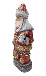 Wooden Santa Russian doll