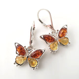 girls amber earrings