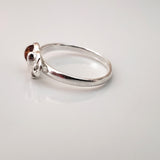 small size kids silver ring